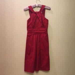 David's Bridal short strapping dress
